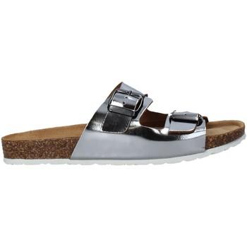 Schoenen Dames Leren slippers Marco Tozzi 2-2-27405-26 Grijs