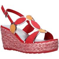 Schoenen Dames Sandalen / Open schoenen Marco Tozzi 2-2-28342-26 Rood