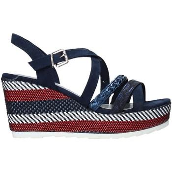 Schoenen Dames Sandalen / Open schoenen Marco Tozzi 2-2-28375-26 Blauw