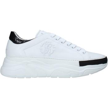 Schoenen Heren Lage sneakers Roberto Cavalli 10734 B Wit