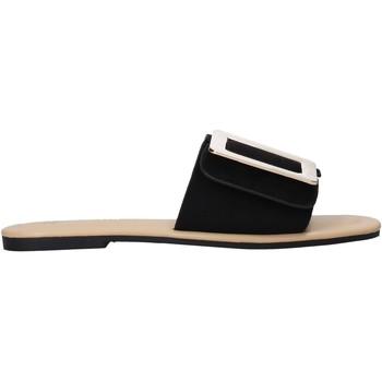 Schoenen Dames Leren slippers Gold&gold A21 GJ551 Zwart