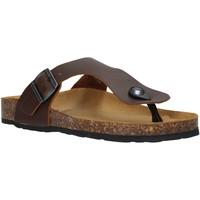 Schoenen Dames Slippers Docksteps DSW229001 Bruin