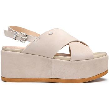 Schoenen Dames Sandalen / Open schoenen Alberto Guardiani AGW003000 Beige