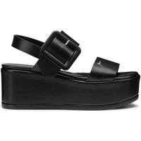Schoenen Dames Sandalen / Open schoenen Alberto Guardiani AGW003105 Zwart