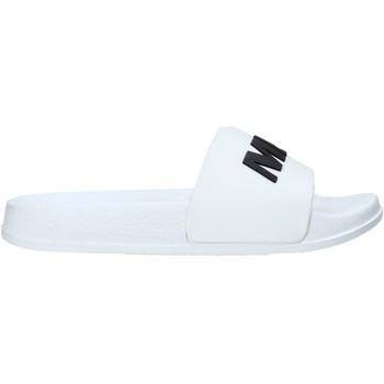 Schoenen Kinderen Leren slippers Miss Sixty S20-SMS798 Wit