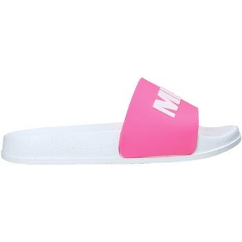 Schoenen Kinderen Leren slippers Miss Sixty S20-SMS798 Roze