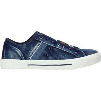 Schoenen Heren Lage sneakers Wrangler WM01050A Blauw