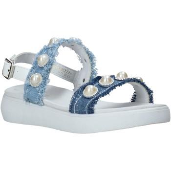 Schoenen Meisjes Sandalen / Open schoenen Miss Sixty S20-SMS773 Blauw