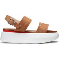 Schoenen Dames Sandalen / Open schoenen Alberto Guardiani AGW004101 Beige