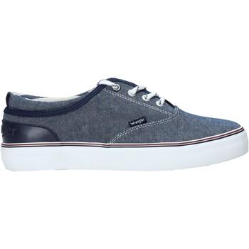 Schoenen Heren Lage sneakers Wrangler WM01020A Blauw