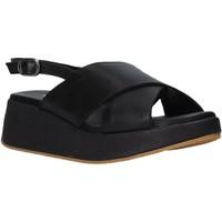 Schoenen Dames Sandalen / Open schoenen Sshady L2410 Zwart
