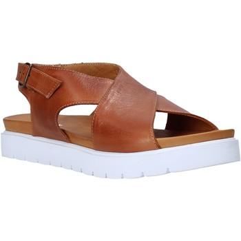 Schoenen Dames Sandalen / Open schoenen Sshady L2301 Bruin
