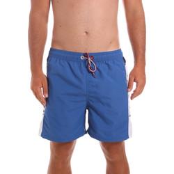 Textiel Heren Zwembroeken/ Zwemshorts Key Up 2X003 0001 Blauw