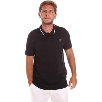 Textiel Heren Polo's korte mouwen Roberto Cavalli FST693 Zwart