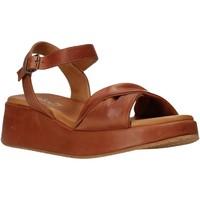 Schoenen Dames Sandalen / Open schoenen Sshady L2402 Bruin