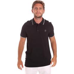 Textiel Heren Polo's korte mouwen Roberto Cavalli FST697 Zwart