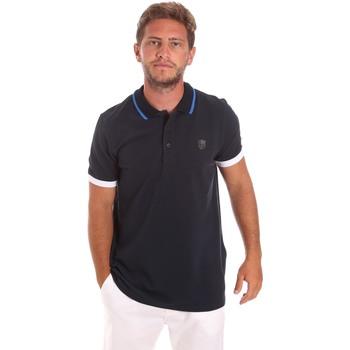 Textiel Heren Polo's korte mouwen Roberto Cavalli FST692 Blauw