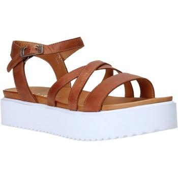 Schoenen Dames Sandalen / Open schoenen Sshady L2304 Bruin