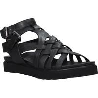 Schoenen Dames Sandalen / Open schoenen Sshady L2306 Zwart