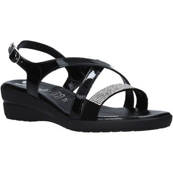 Schoenen Dames Sandalen / Open schoenen Susimoda 243640 Zwart