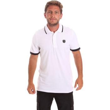 Textiel Heren Polo's korte mouwen Roberto Cavalli FST692 Wit