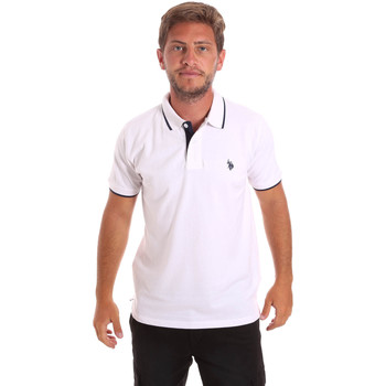 Textiel Heren Polo's korte mouwen U.S Polo Assn. 51139 49785 Wit