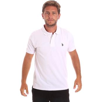 Textiel Heren Polo's korte mouwen U.S Polo Assn. 51007 49785 Wit