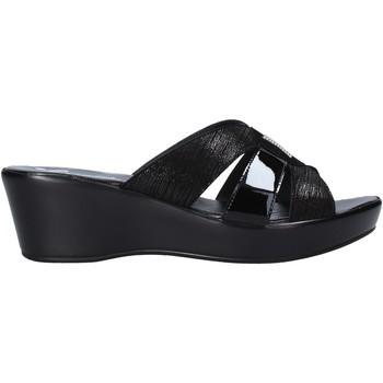 Schoenen Dames Leren slippers Susimoda 1925 Zwart