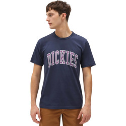 Textiel Heren T-shirts korte mouwen Dickies DK0A4X9FNV01 Blauw