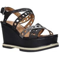 Schoenen Dames Sandalen / Open schoenen Wrangler WL01570A Zwart