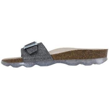 Schoenen Dames Leren slippers Senses & Shoes  Grijs