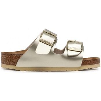 Schoenen Kinderen Leren slippers Birkenstock Arizona Kids BF Doré