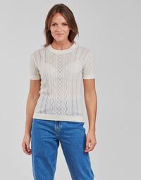 Textiel Dames Tops / Blousjes Betty London PAVARI Wit