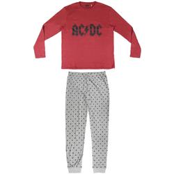 Textiel Heren Pyjama's / nachthemden Ac/dc 2200004849 Rojo
