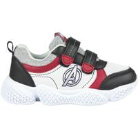 Schoenen Jongens Lage sneakers Avengers 2300004641 Blanco