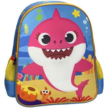 Tassen Meisjes Rugzakken Baby Shark MC-02-BS Multicolor
