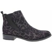 Schoenen Dames Hoge sneakers Marco Tozzi 222532133241 Noir, Marron