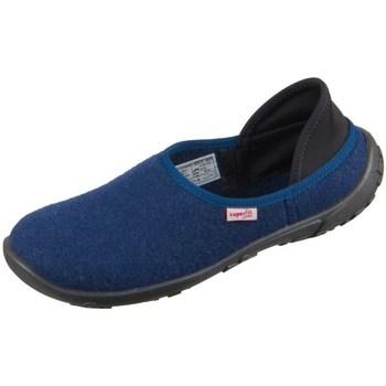 Schoenen Kinderen Sloffen Superfit Lucky Bleu marine