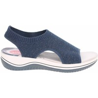 Schoenen Dames Sandalen / Open schoenen Jana 882872836805 Bleu marine