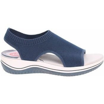 Schoenen Dames Sandalen / Open schoenen Jana 882872836810 Bleu marine