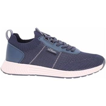 Schoenen Heren Lage sneakers S.Oliver 551360326805 Bleu marine