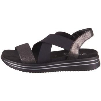 Schoenen Dames Sandalen / Open schoenen Remonte Dorndorf R295402 Noir