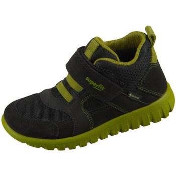 Schoenen Kinderen Hoge sneakers Superfit SPORT7 Mini Noir, Olive