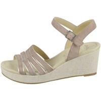 Schoenen Dames Sandalen / Open schoenen Ara Riccione HS Beige