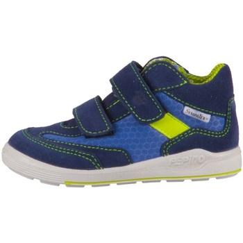 Schoenen Jongens Hoge sneakers Ricosta Rico Bleu, Bleu marine