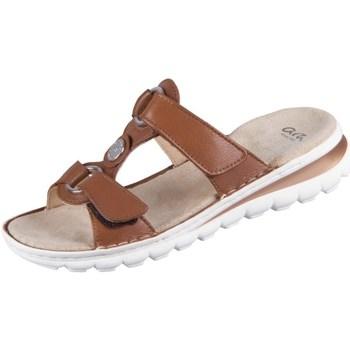 Schoenen Dames Leren slippers Ara Tampa Marron