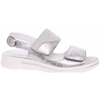 Schoenen Dames Sandalen / Open schoenen Waldläufer 922002210347 Argent