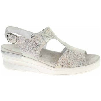 Schoenen Dames Sandalen / Open schoenen Waldläufer 702003126299 Creme