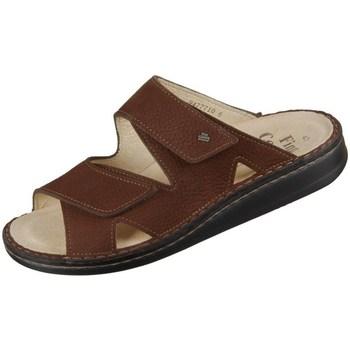 Schoenen Heren Leren slippers Finn Comfort Danzig S Marron
