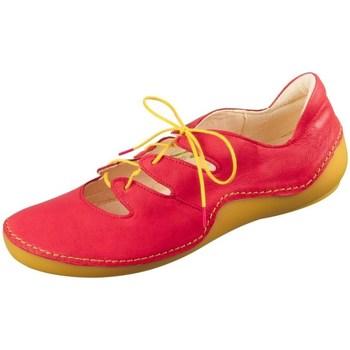 Schoenen Dames Lage sneakers Think Kapsl Fire Rouge